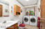 main floor laundry/ 1/2 bath