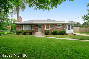 This is a classic north-western brick ranch. Beautifully maintained with many updates. Lower level with finished family room has every opportunity for updates including expansion of half bath to full bath (existing shower). Shorter street with 3 houses, make for low traffic and tranquility.