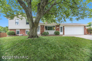 Fabulous Tri-Level on a corner lot, and on a cul- de- sac! This beautiful home includes an above ground fenced in pool, fenced in yard with 6 ft. cedar fence, a garden area, a fire pit area with electricity, underground sprinkling, patio, deck with electric, basketball hoop, flagpole. The 10x12 wooden shed has a ramp, vinyl siding,roll up door, and electric, this is all before you get inside! This home is equipped with an electric air cleaner,a heat pump to save on those heat bills, humidifier, water softener with reverse osmosis drinking water and ice maker, 4 bedrooms, 2 main living areas, ceiling fans in 3 bedrooms and living areas, surround sound wiring, a hallway motion sensor, shower, gaming area, and laundry in basement. The pool size is 16x32, and comes with a liner bought in 2013,and a 2017 filter tank. More features of this home include 10 year old furnace with heat pump, 3 year old roof on two main levels, garage roof 12 years old. New dishwasher in 2019, red maple tree in backyard, 19x11 4th bedroom in lower level. There is so much this home has to offer, you have to see it to believe it!Seller reserves washer and dryer, freezers and safe in basement, workbench and cabinets in garage, TV mount.