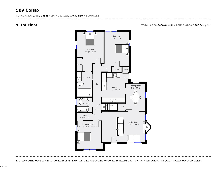 509 Colfax 1st Floor
