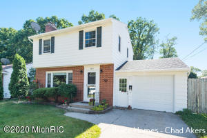 SOLD BEFORE BROADCAST! Wonderful 2 Story In Wyoming! 3 Bedrooms + 1. 5 Baths. New Hardwood Doors Upstairs, Windows All Updated, Furnace 10 Years Old, A/C 2 Years Old, Roof 15 Years Old! Well Maintained & Move-In Ready!