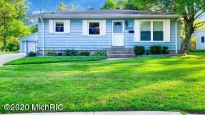 This is a nice Wyoming Ranch with 4 bedrooms and 2 full bath.It offers a 2016 heating system , 2019 AC, 2020 Water heater. A nice size above ground pool, 2 detached garage , Newer windows and much more..Seller RESERVED; All the gym equipment in the garage.All offers due on 07/06/020 at 5pm.