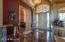 Foyer Entrance Featuring Onyx Tiled Floor
