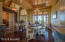 Formal Dining Room w/Inlaid Wood Tray Ceiling