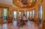 Breakfast Nook w/Inlaid Copper Ceiling