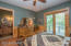 Guest Bedroom/Bath. Slider Door Leading to the Expansive Deck