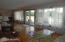 Guest house living room with full lake view/deck