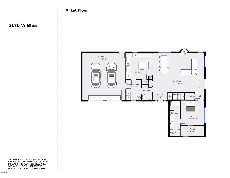 5170 W Bliss 1st Floor