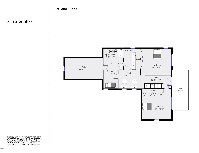 5170 W Bliss 2nd Floor