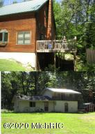 TWO HOMES: 6358 Whtfish-top view: main home and 6250 Whtfish, (rental/in-law or kids home) both on 3-4 acres ota...Lower pic 6250 Whitefish-Rental/In-Law/Kids-Home
