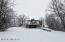 Winter view of Front of Home.