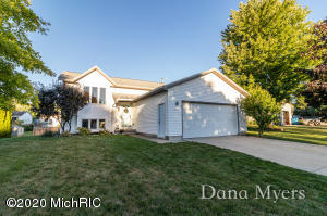 **Update: Multiple offers received. Per Seller request, any additional highest and best offers to be due on Sunday, 9/6 at 6:00pm**Welcome to 3531 Breezewood Dr SE in Windy Ridge Estates. From the moment that you walk in, you'll feel the warmth, character and charm of this tastefully remodeled 3 bedroom, 2 full bath home. Open concept kitchen, living room and dining with slider to deck, which features new, composite deck boards. Lower level walks out to a nice, fully fenced in backyard. Great location, convenient to M6, schools, shopping and restaurants AND within a no HOA development. All appliances, including washer & dryer stay. To complete the selling package, Sellers are providing a 1 year home warranty for Buyer peace of mind. Schedule a showing today. This one will not last