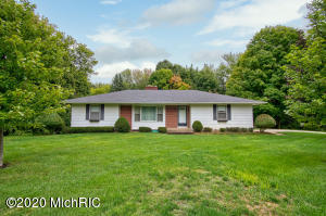 Very well maintained ranch home includes THREE parcels totaling over 3 acres.  Three spacious bedrooms on the main floor.  Lots of finished space and storage in the lower level that includes a walkout.  Nice sized deck off the dining room with a beautiful private back yard. Please see agent only notes