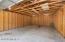Pole barn interior