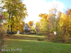 1.9 Acres, huge pond, water frontage on Fine Lake!