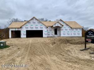 Under construction for Spring 2021! This 5 bedroom 3 1/2 bath executive ranch home is being built by quality/energy efficient/award winning Your Homes LLC by Tim Schollaart in the desirable Summerset South development. The main floor includes a well appointed master suite & open concept floor plan including fireplace, a custom designed kitchen w/ island & walk-in pantry. Mud room with bench, lockers, & closet, main floor laundry room, guest 1/2 bath round out the main floor. 2 more bedrooms, bath, kitchenette, and family room in walkout basement.  Spacious 3 car garage, private deck w/ views of your 0.87 acre lot's wooded backyard. Call/text Nate today for more details & to schedule a meeting and see the quality custom options that can be finished for you!