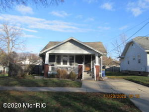Very cute two bedroom, one bath Bungalow in East Grand Rapids near Veterans Park.  Open living and dining room with large open kitchen and a full partially finished basement.  All appliances, all city services, large back yard with a small storage area.