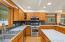 Huge open kitchen