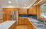 Tons of storage in this kitchen!