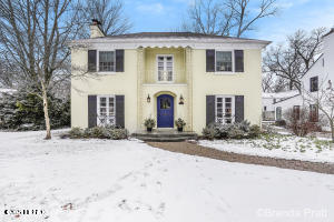 Sold before broadcastClassic Cambridge East Grand Rapids all brick center entrance colonial.  4 beds 2.5 baths.  Master suite, 2 stall attached garage with space for a mudroom.  Beautiful mature lot.