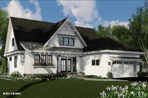 Rendering of proposed home.