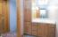 En suite bath for lower level guest bedroom #2