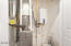 MECHANICAL ROOM WITH TANKLESS WATER HEATER & HIGH EFFICIENCY FURNACE