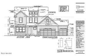 The beautiful ''Maplewood'' plan by JTB Homes is located in the highly desirable Hidden Ridge neighborhood- a Grandville address in Byron Center School district.  Pictures from other finished homes. This one has a flex room with glass french doors and family room with fireplace.  The Natural Hickory laminate flooring adds to the flow of the living room, kitchen and dining area. The kitchen features Quartz counters, upgraded cabinets and a Slate premium appliance package. The large mudroom features a bench with cubbies off the 3rd stall garage. Upstairs you'll enjoy a large master suite with ceramic tile shower and granite countertops. 3 more bedrooms and an upstairs laundry complete the package.  Last home in this neighborhood.  House will be available late June/early July
