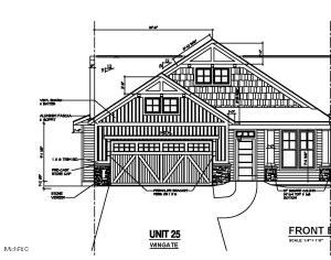 JTB Homes presents the Wingate plan in the Woods of Albright development. This location is conveniently located close to shopping and easy access to M-6 or I196. Some features include no step entry,  9 ft ceilings, open floor plan, 4 season Michigan room with modern lineal electric fireplace,  gourmet kitchen, walk in pantry with melamine shelving, slate appliances, solid surface counter tops in kitchen/main level baths and modern open rail system.  Ceramic Tile shower with euro glass door and upgraded flooring and fixtures throughout.  The lower level includes a finished bed, bath and rec room while still providing storage galore.  This floor plan is perfect for entertaining or to just call home. Available July 2021.