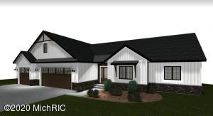 New ranch home to be constructed by award winning Nugent Builders. Located in the tranquil and rolling hills of Knockadoon tucked away off Myers Lk Rd in the desirable Rockford school district. This stunning walk out ranch home features an open floor plan with spacious kitchen, living room, owner's suite, plus two additional bedrooms, 2 baths and up to 4,000 sqft of potential finished space. Custom build highlights,include top of the line finishes, Quartz tops & tile backsplash, walk in pantry,Anderson 400 High Performance windows, Solid Core 3 Panel Doors, Landscaping allowance, etc. Available to customize to your specifications and design. See attached list for more details