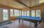 Sunroom also serves as a multi gameroom