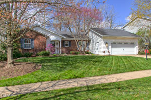On an extra deep wooded lot which you're overlooking from a 25 ft living room, enclosed porch or patio, you'll think you're sitting in a park in one of the nicest neighborhoods in the GR area! A comfortable Entry welcomes you with a kitchen stretching across the front of the home, spacious living room, Master Suite, and main floor laundry. The lower level is more recently finished with a large Family Room, bedroom, bath and a work shop to die for (4th bdrm?) ! Offering almost 2,400 sq.ft finished this exceptional home keeps unfolding and the neighbor behind also on a  deep lot you'll never see them. Part of the Princeton Estates neighborhood with sidewalks, a neighborhood park and bike trails to Caledonia, Byron or downtown, this is a great place to call home! Offers reviewed immediately.
