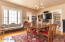 Main floor living and dining areas offer great entertaining space