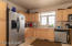 Updated appliances highlight the kitchen