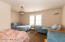 There are 3 huge bedrooms upstairs. Plenty of room to entertain all those family and friends