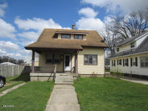 Solid 3 bedroom, 1 bath home. Estate property in need of significant mechanical & cosmetic update.  Formal living & dining rooms.  Main floor bedroom. Good sized kitchen. Lots of nice oak trim throughout the home.  Lots of potential for sweat equity.
