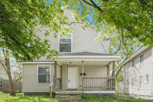 Looking for an affordable turnkey? This 3 bedroom, 1 bathroom house has a spacious living room that opens up to a good size dinning room and cozy kitchen. With newer replacement windows and updated flooring this house is the perfect place to call home.