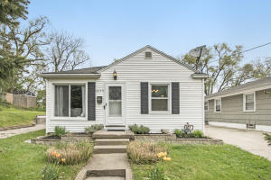 Fantastic location for this 2 (possible 3) bedroom, 2 bath home! Just down the street from downtown Grand Rapids and right off of the I 196 Expressway for convenience! As you walk into this home, you are greeted by a large kitchen that has been remodeled with newer cabinets, countertops and flooring throughout within the last few years! This home also boasts a large living room area, and 2 bedrooms/1 bath on the main floor. Downstairs in this home is a large family room area that the current owners have turned into a large owner's suite with an office area. This area would be great as a family room as well! There is plenty of storage throughout the home as well! The backyard is fully fenced in with a detached 2 stall garage. This home is a super find on a great street just down from Houseman Field, Fuller park and Hillcrest dog park! Any and all offers due by 10AM on 05/10/2021