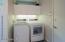Main floor laundry.