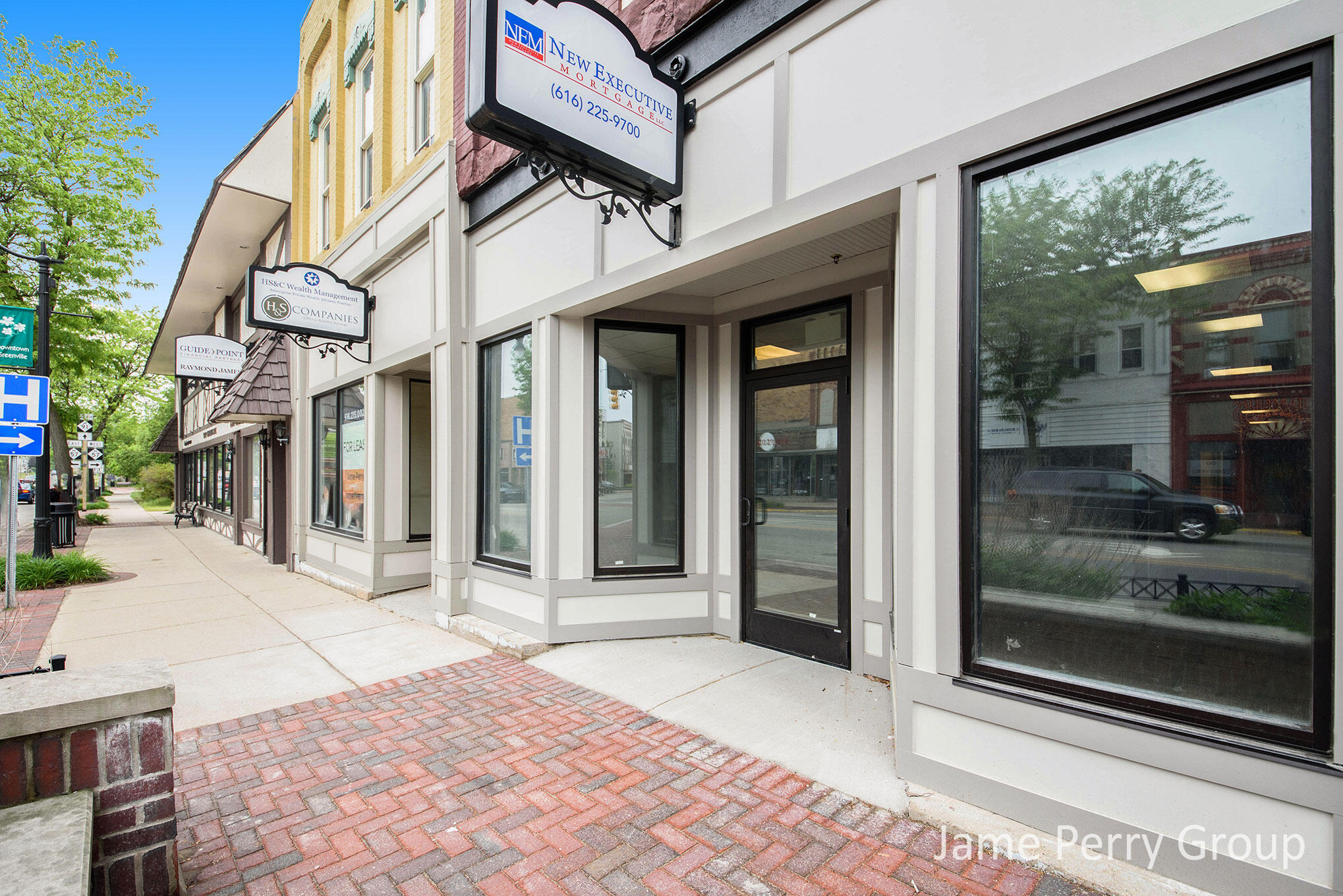 Tremendous professional office, services or retail establishment available for immediate occupancy. Located right in the heart of downtown Greenville near corner of Cass and Lafayette. Features reception are with 3 private offices, kitchen area and lavatory facilities. Great opportunity and commercial space is limited in growing city. Call for more details or showing.