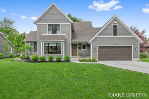 Welcome to 2050 Anderson - a 4 bed, 4.5 bath, custom-built home nestled in the heart of East Grand Rapids! This remarkable home was designed in 2019 with all the features desirable in a new build including an open style floor plan, main level owner's suite, main floor laundry, and high-end finishes.  Not to mention some amazing upgrades:  Pella windows, Hardie siding and a 3 zone HVAC system.   Ample natural lighting, tons of space to entertain and remarkably manicured landscaping add to the appeal of this 5,306 square foot home!  Prime location with incredible walkability to EGR Schools, Reeds Lake & all Gaslight Village has to offer -  this is the perfect place to call home!  Showings begin Saturday, June 26th at 10am.