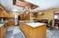 Gourmet kitchen with an abundance of cabinets