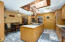 A chef's dream kitchen with lots of counterspace