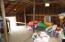 Upstairs of pole barn / garage. Plenty of storage