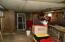Inside of pole barn / garage