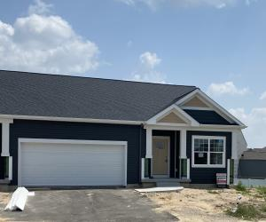 Under construction! Photos are of a similar model. Welcome to the Vistas at Rivertown Park. This spacious ranch style floor plan features an open kitchen with a center island, living room with vaulted ceiling, master suite with walk-in closet, main floor laundry room, half bathroom, sunroom and two-stall garage. The finished daylight lower level features a family room, bedroom and full bathroom. Some of the amenities you will enjoy when living at the Vistas include an oversized pool, beautiful clubhouse, fully stocked exercise room, tennis court, and a location that's convenient to shopping, restaurants, and other amenities. Photos are of a previously built model.