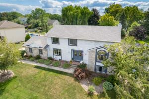 Here's the facts: 4 BR, 3.5 BA, 3300+ total finished sq ft, spacious floor plan, formal DR, LR with cathedral ceiling, office, finished walk-out lower level with full kitchen, 2 gas FP, new windows 2021, roof in 2017, AC in 2021, new chimney 2017, new flooring, main level painted 2019, underground sprinkling, new pool liner in 2018. AHH YES, the pool...exit the main floor family room to a spacious deck with a gazebo, make your way to a lower level brick patio and the beautiful pool to be enjoyed with family and friends all inside a private fenced backyard. Located in Princeton Estates just a short walk to Pinewood Park don't miss out on this opportunity. Showings begin Monday, Sept. 6 at 10 AM. Offers due by Thursday, Sept. 9 at 10 AM. Seller requests possession to be 45 days after close.
