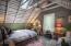 Vaulted Ceilings in Loft Bunk Room