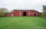 This barn is unique because it has 950 finished sq feet of living area complete with heat and AC, this is perfect for a home office, studio and or exercise area