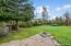 Backyard of home
